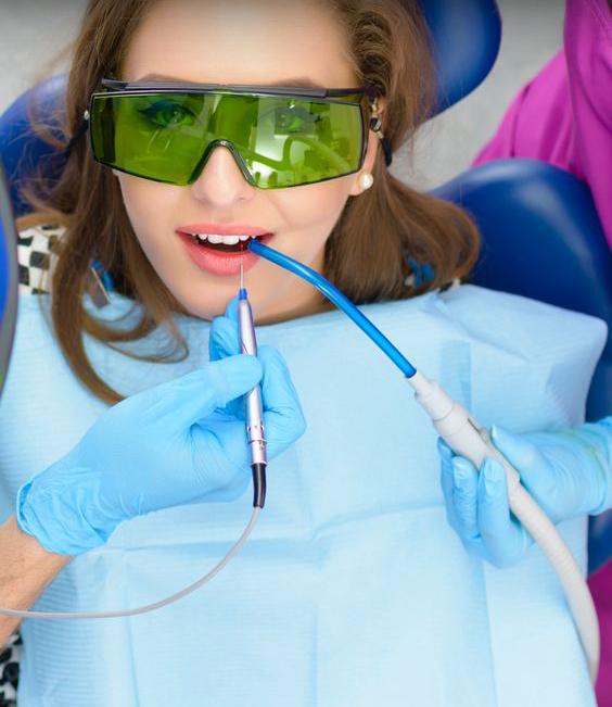 استفاده از لیزر و فلوراید در درمان پوسیدگی